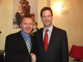 Nick and The Deputy Prime Minister