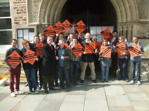 Liberal Democrats across East Sussex are campaigning to replace the current Tory administration on 2 May